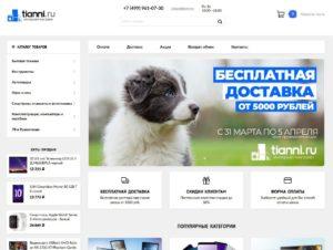 Скриншот tianni.su